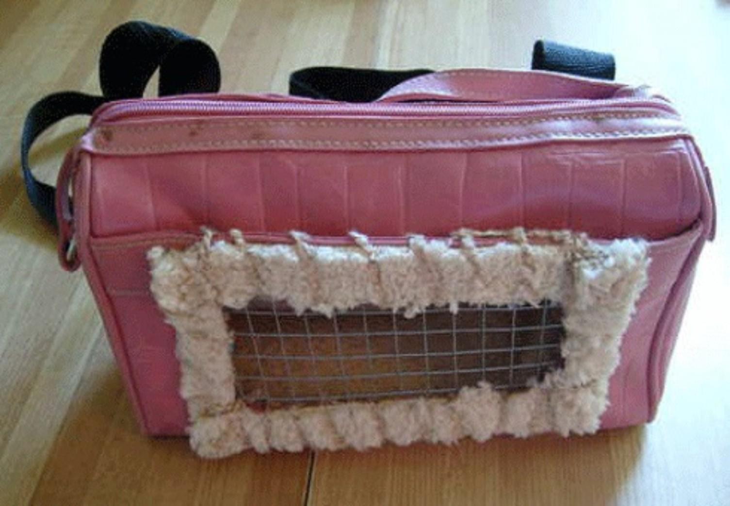 Как сделать сумка переноска для кошек своими руками