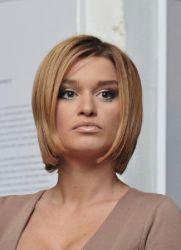 Ксения Бородина прическа - совет для женщин